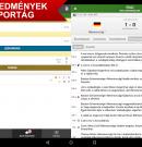 Eredmenyek – alkalmazás Androidra és iOS-re